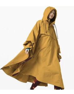 Lululemon Face Forward Cape Jacket x Roksanda-M/L Yellow 398$ NWT Medium / Large