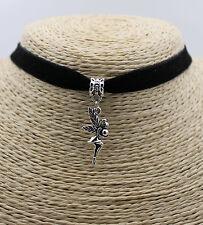 Angel Ball Fairy Retro Silver Tone Pendant Fashion Women String Necklace New #01