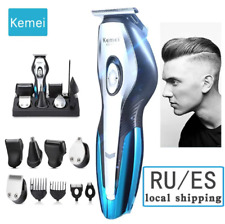 11 in1 Rechargeable Cordless Electric Hair Clipper Men Body Beard Trimmer Shaver