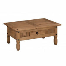 House of Cotswolds Corona Mexican Pine Coffee Table - Brown