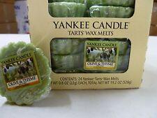 Yankee Candle Wax Tart Melts 24 Per Box ( Olive & Thyme )