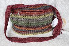 THE SAK Hand-Crocheted Shoulder Bag Gypsy Stripes New NWT Originally $79.00