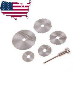Circular Saw Blade Set For Dremel Rotary Tool wood plastic pvc cut off cutting