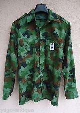 Yugoslavia JNA Army RARE M87 small oak leaf amoeba camouflage shirt II type 1988