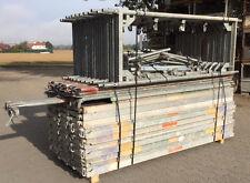 Layher Assco MJ ca. 136 m² gebrauchtes Gerüst Fassadengerüst Baugerüst Gerüste