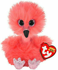 "TY Beanie 6"" Plush Franny Flamingo"