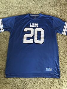 Barry Sanders Detroit Lions 3XL Pro Football Hall of Fame Jersey Uniform #20