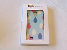 Fossil SL4648915 Ink Drop Case S4 Clear Blue Galaxy S4 Case phone NWT*^