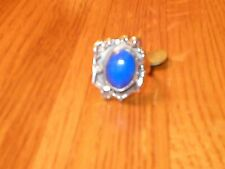 Sterling silver ring with Lapis Lazuli gemstone Sz 8.5