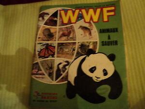 "Album Panini "" Wwf - Animals With Save /1987 "" 286 Tax Disc On 360 / Good"