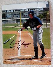 Tampa Bay Rays Cameron Seitzer Signed 8x10 Photo Auto