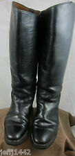 Vintage 1950s Motorcycle Pull on boots w/Rare Vibram Sole - possiby horsehide