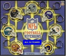 NEW NFL KEY CHAIN SET! AFC & NFC 32 RETIRED KEYCHAINS!