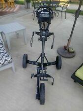 Clicgear 3.5+ Golf Push Cart - Black / Used