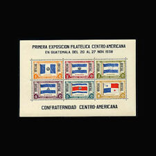 Guatemala, Sc #CO7, MNH, 1939, S/S, OFICIAL Flags, Stamp EXPO, 8RHI