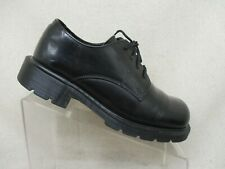 DR MARTENS Black Leather Oxford Dress Shoes Boots Mens Size 5 UK Made In England