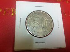 50 Cent Malaysia Coins 1969 (VF)