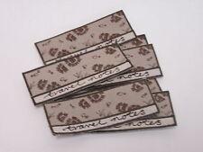 Pack de 10-notes de voyage style brodé Note Livre l'artisanat making motifs # 0E8