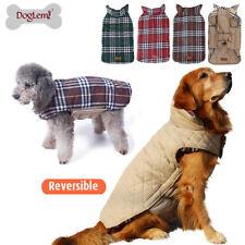 Large Small Dog Jacket Padded Pet Clothes Warm Windbreaker Vest Coat Winter