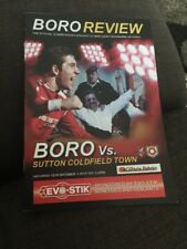 Scarborough Athletic V Sutton Coldfield 2013 Soccer/football Programme