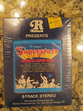 NEW 1978 RONCO SUPERSTARS - ORIGINAL SUPER HITS ! - AS SEEN ON TV - 8-TRACK