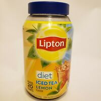 Lipton Iced Tea Mix, Diet Lemon Ice Tea, Makes 20 Quarts Low Calorie Lipton Tea