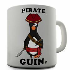 Pirate Guin Funny Novelty Design Gift Tea Coffee Office Ceramic Mug