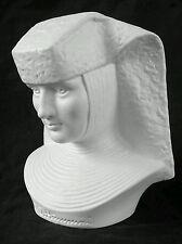 Vintage Goebel W.Germany porcelain Sister Maria Innocentia Hummel bust, 5.5 inch