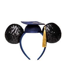 NWT Disney Parks Sequined Graduation Class Of 2020 Ears Headband