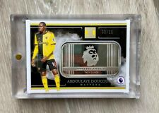2019-2020 Panini Impeccable Soccer 1 Troy Ounce Silver Abdoulaye Doucoure /25