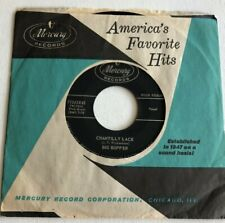 THE BIG BOPPER, CHANTILLY LACE, MERCURY#71343, ROCK AND ROLL 45 RECORD, 1958