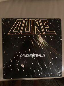 David Matthew's - Dune - PROMO Vinyl LP - EX/VG+.  CTI 7-5005.  Next Day Ships!!