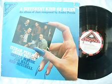 ITZHAK PERLMAN . ANDRE PREVIN LP A DIFFERENT KIND OF BLUES 33 rpm vinyl