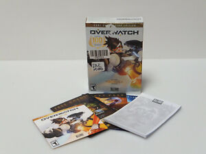 READ NO CODE! Blizzard Overwatch Game Of The Year Disc Box And Bonus
