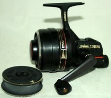 Daiwa 125M Closed Face Reel with spare spool