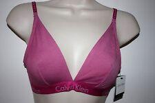 Calvin Klein pink triangle bra, M