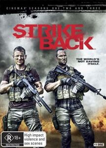 Strike Back : Season 1-3 DVD - Rhona Mitra - Sullivan Stapleton - New & Sealed