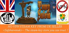 Town of Salem Steam key NO VPN Region Free UK Seller