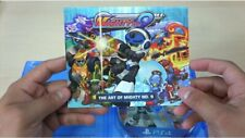 Mighty No. 9 Artbook Beck Transformations Call Mobs Ray Video Game Xbox Wii