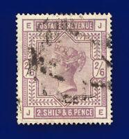 1884 SG178 2s6d Lilac K10(1) JE Good Used Cat £160 crmb