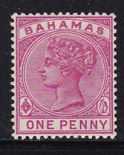 Album Treasures Bahamas  Scott # 27  1p  Victoria  Mint Hinged