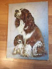 Vintage English Springer Spaniel Dog Jigsaw puzzle Ito Kopland Ee Fairchild corp
