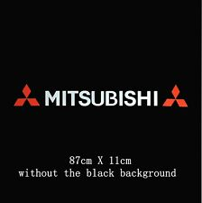 Windscreen Sunstrip Windows Sticker Decal For Mitsubishi (no blackground)
