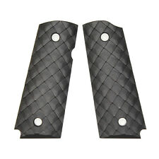 Duragrips - Colt Kimber Compact Officers Tactical 1911 grips - Black, Pangolin
