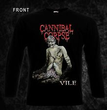 CANNIBAL CORPSE -Vile- death metal band,T-shirt long sleeve-sizes:S to XXL