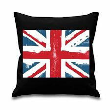 "Union Jack 18"" x 18"" Filled Sofa Throw Cushion"