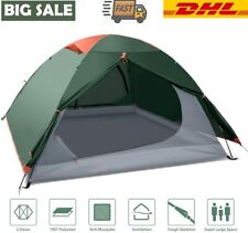 Campingzelt Beach Zelt Hiking Zweimannzelt Kuppelzelt Wandern Shelter 2-4 Person