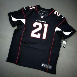 100% Authentic Arizona Cardinals Patrick Peterson Nike Black Elite Jersey 48 XL