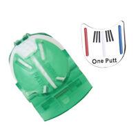 Golf Ball Liner Marker Ball Putting Alignment Tool + Hat Clip Ball Marker