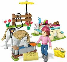 NEW Mega Construx American Girl Saige's Picnic Building Set & Activity Book 8+
